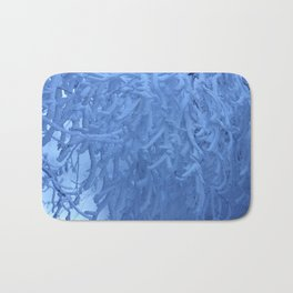 Snow trees Bath Mat