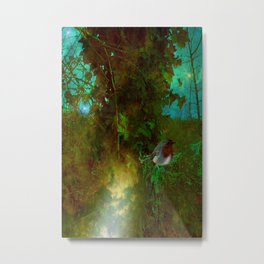 Robin's Nest. Metal Print