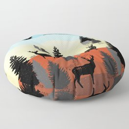 Landscape Floor Pillow