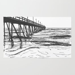 At the Pier Rug