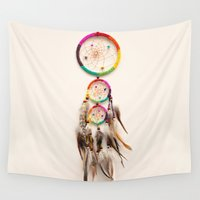 dreamer Wall Tapestries featuring Dreamer by Laura Ruth