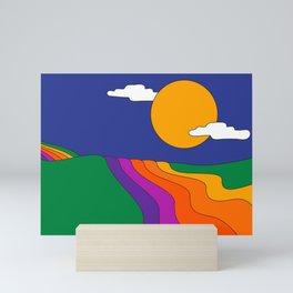 Rolling Hills Mini Art Print
