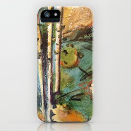 Birch in the Spring iPhone Case
