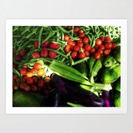 Harvest Blend Art Print