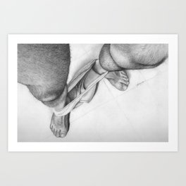 BEARFOOT Art Print