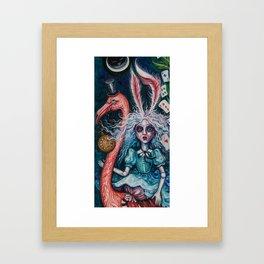 Escape to wonderland Framed Art Print