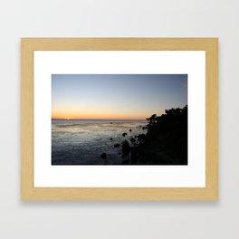 Big Sur Sunset 1 Framed Art Print