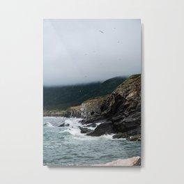 Coast Aesthetic Metal Print