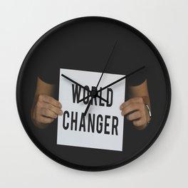 World Changer Wall Clock