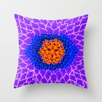 brasil Throw Pillows featuring Brasil Estampa by Henrique Abreu