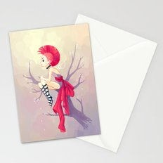 Punk Girl Stationery Cards