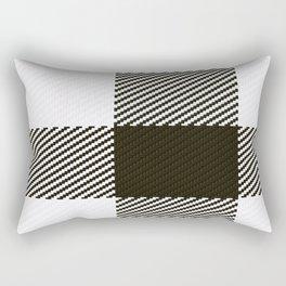 Dogtooth Quarter Rectangular Pillow