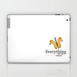 WISE BUTTERFLY Laptop & iPad Skin
