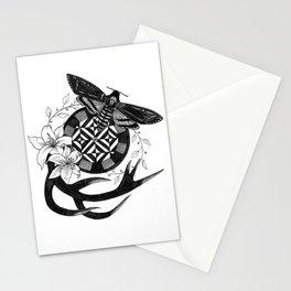 Acherontia Atropos - Hannibal Stationery Cards