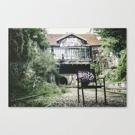 The Other Side of the Tracks Canvas Print