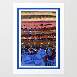Summer at Barnard College | Barnard Seasons Series Art Print