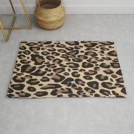 Classic Animal Leopard Print Rug