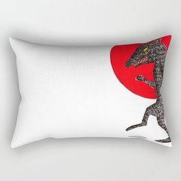 pas de loup Rectangular Pillow