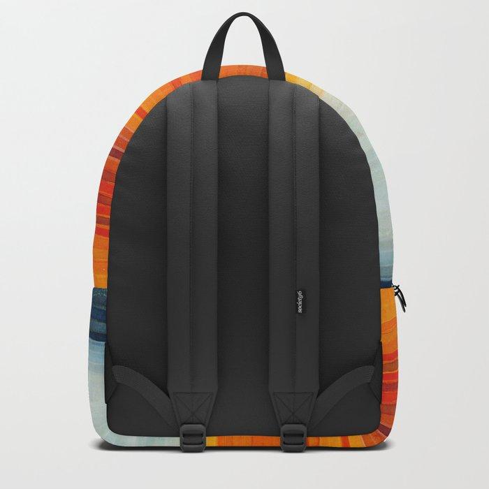 Yellowstone Orange Backpack