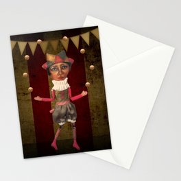 The Circus Juggler Stationery Cards