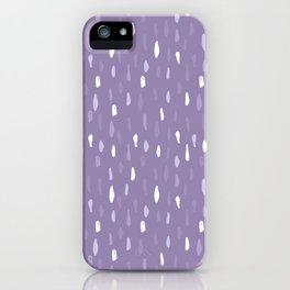 Stains Abstract Ultraviolet iPhone Case