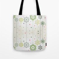 deco Tote Bags featuring Holidays Deco by Elena Indolfi