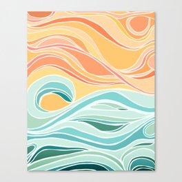 Sea and Sky II Canvas Print