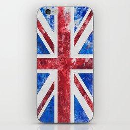 Union Jack Great Britain Flag Grunge iPhone Skin
