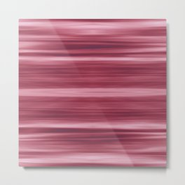 Abstraction Serenity in Rose Metal Print
