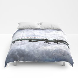 Air Canada Boeing 777 Art Comforters