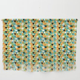 Scandy Triangles Wall Hanging