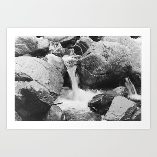 small falls  Art Print