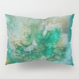 Dawning of a Galactic Planet Pillow Sham