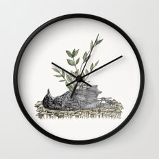 The Beginning Is The End Is The Beginning Wall Clock