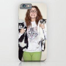 Crazy Cat Lady Photograph iPhone 6s Slim Case