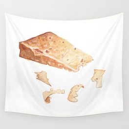Parmigiano-Reggiano Cheese Wall Tapestry