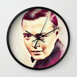Peter Lorre, Hollywood Legend Wall Clock