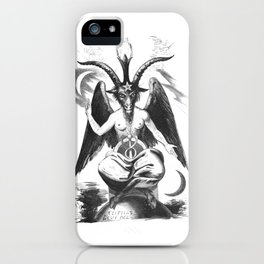 Baphomet - Satanic Church iPhone Case
