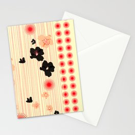 spotted blooms Stationery Cards
