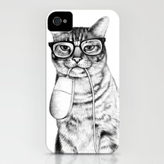 Mac Cat iPhone (4, 4s) Slim Case