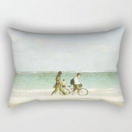 Carribean sea 3 Rectangular Pillow