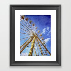 At the Funfair (3) Framed Art Print