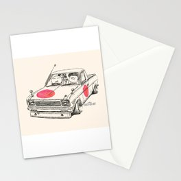 Crazy Car Art 0169 Stationery Cards
