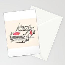 Crazy Car Art 0169 Stationery Cards