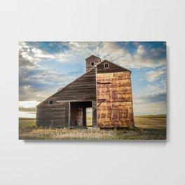 Grain Elevator 5 Metal Print