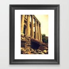 Old Rome. Framed Art Print