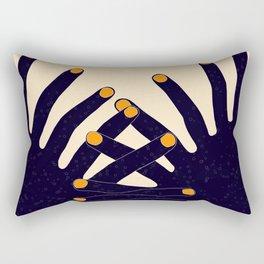 Zip Man Rectangular Pillow