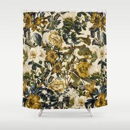 Warm Winter Garden Shower Curtain