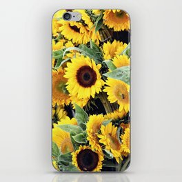 Happy Sunflowers iPhone Skin