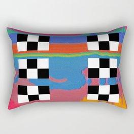 drag scan Rectangular Pillow